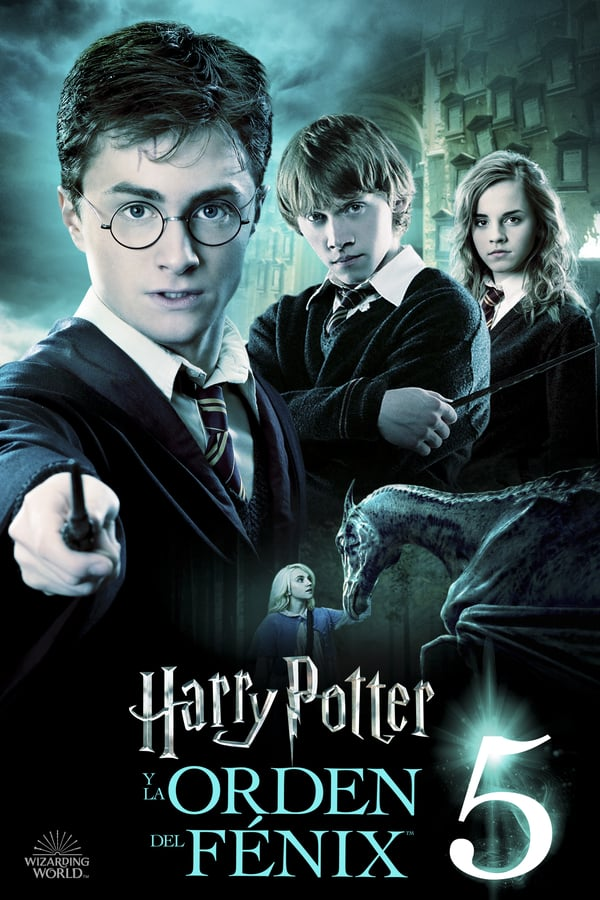 Imagen Harry Potter y la Orden del Fénix – Audio Latino